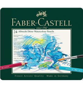 Faber-Castell - Albrecht Dürer watercolour pencil, tin of 24