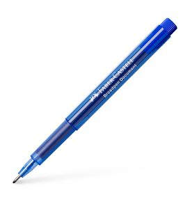 Faber-Castell - Broadpen 1554 fineliner, 0.8mm, blue