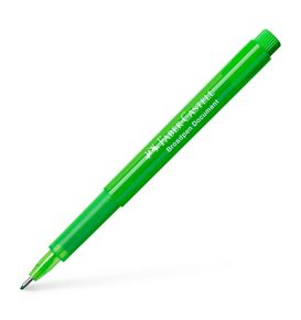 Faber-Castell - Broadpen 1554 fineliner, 0.8mm, light green