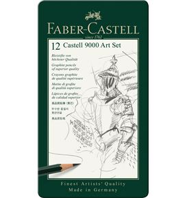 Faber-Castell - Graphite pencil Castell 9000 Art set