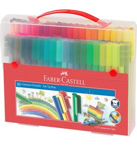 Faber-Castell - Gift set Connector felt-tip pen 80 pcs
