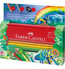 Faber-Castell - Colour Grip set jungle peindre+dessiner