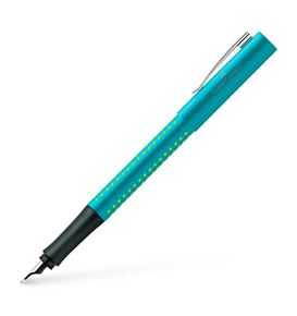 Faber-Castell - Stylo-plume Grip 2010 F turquoise