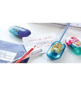 Faber-Castell - Taille-crayon et gomme cupcake