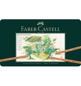 Faber-Castell - Colour pencil Pitt Pastel tin of 36
