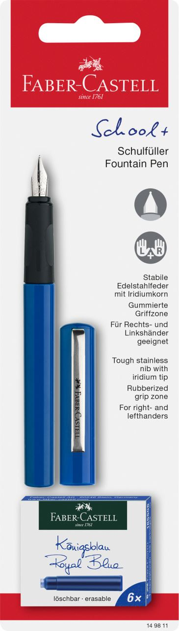 ROLLER EDUCATIF SCRIBOLINO Faber-Castell cartouches rechargeables