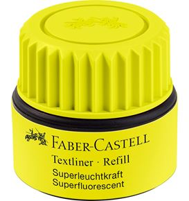 Faber-Castell - Textliner 1549 recharge jaune