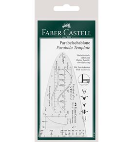 Faber-Castell - Parabola template